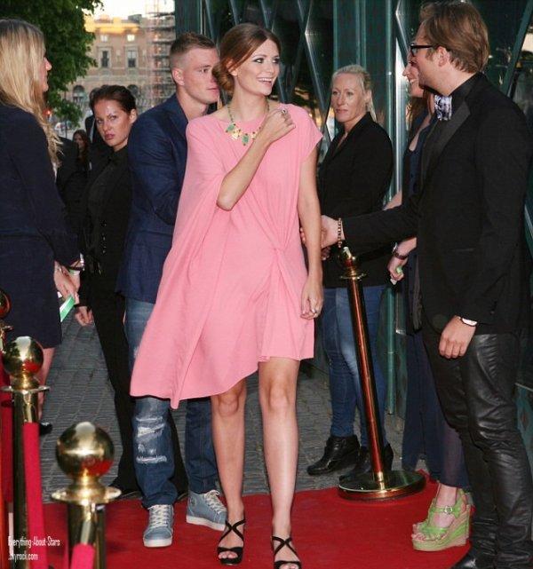 """Misha Barton s'est rendu à l'évènement """"Lindsay's Pre-party"""" à Stockholm.   le 27 Mai 2012"""