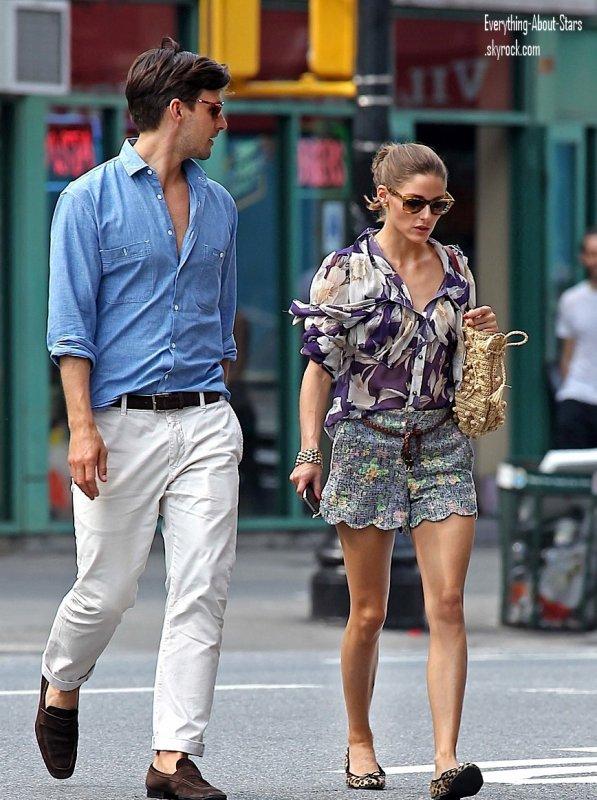 Olivia Palermo et son chéri aperçue en amoureux dans les rues de NY    le 27 Mai 2012