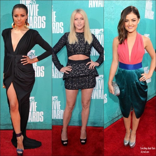 les MTV MOVIE AWARDS 2012:   le 3 Juin 2012