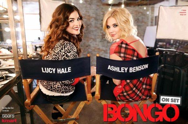 Ashley Benson et Lucy Hale: égeries de la marque BANGO