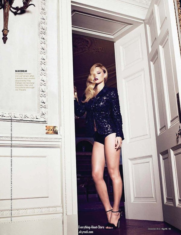 Bar Rafaeli pose pour le magazine GQ: