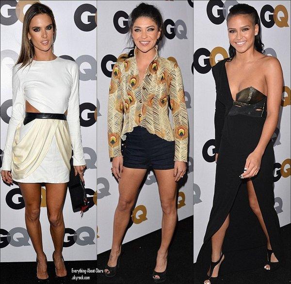 """Rihanna, Alessandra Ambrosio, Jessica Szhor et Cassie  été à la soirée """"GQ Men Of The Year"""" qui se tenait au Château Marmont  le 13 Novembre 2012"""