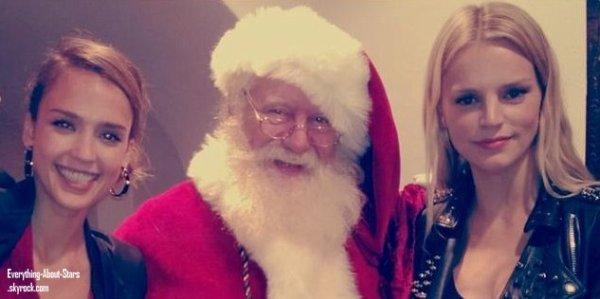Quand les peoples fêtent Noel :