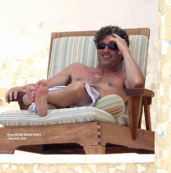 Patrick Dempsey a était photographié en famille à Cabo San Lucas, au Mexique   Le1 Avril 2013