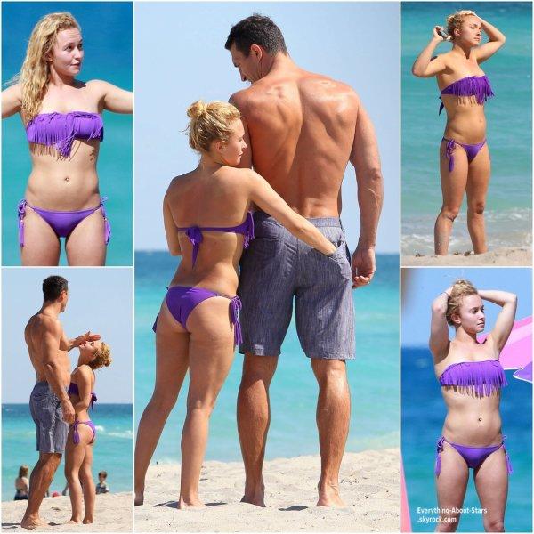 Hayden Panettiere et son fiancé? Wladimir Klitschko sur une plage à Miami    Le 3 Avril 2013