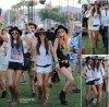 Comme chaque année, le Festival de Coachella ouvre ses portes, le festival créé le buzz tous les ans sur la côte ouest des États-Unis. Nombreuses sont les stars qui se sont montrées sur la fameuse pelouse:    Le 12 Avril 2013