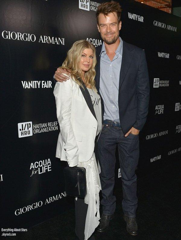Fergie, Josh Duhamel, Pamela Anderson et Emma Roberts présent à l'évènement d'Armani Paris Photo à Los Angeles    Le 25 Avril 2013