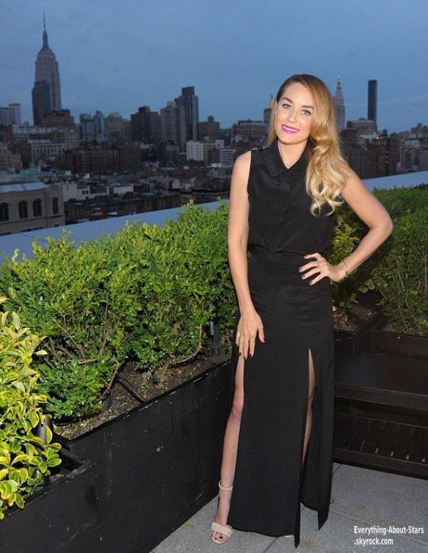 Lauren Conrad à fait la promotion d'une nouvelle boisson l'île de Rhum de la marque Malibu à New York  Le 7 Mai 2013