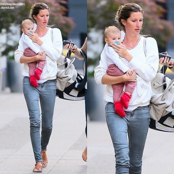 Gisele Bundchen aperçue avec sa fille Vivian dans les rues de New York    Le 15 Mai 2013