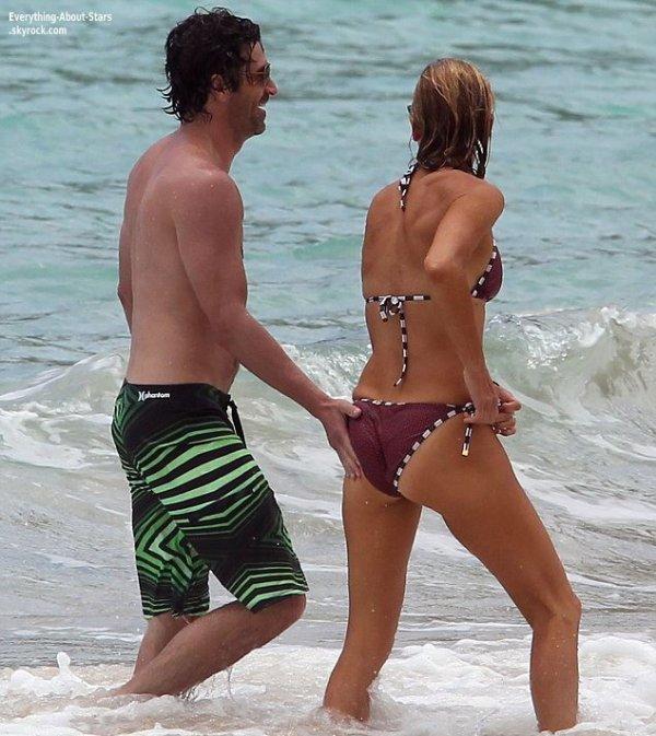 Patrick Dempsey et sa femme Jillian Fink en vacances dans les Caraibes   Le 16 Mai 2013