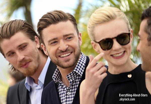Justin Timberlake, Carey Mulligan, Garrett Hedlund, Oscar Isaac et les frères Cohen pendant le photocall du film Inside Llewyn Davis au Festival de Cannes  Le 18 Mai 2013
