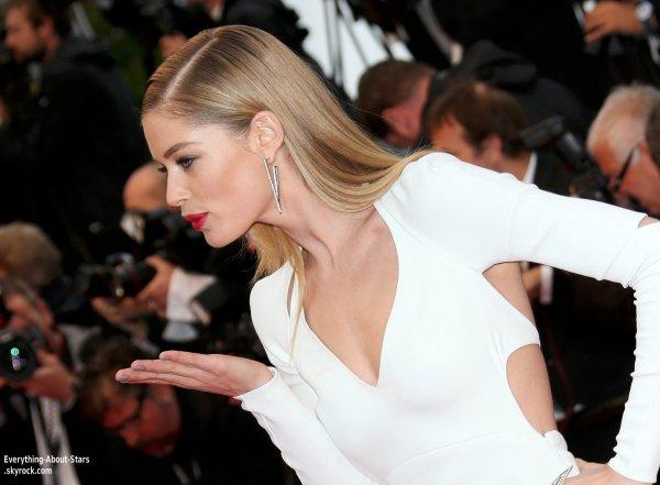 Eva Longoria et Doutzen Kroes ont montés les marches pour la première du film Jimmy P lors du Festival de Cannes  Le 18 Mai 2013