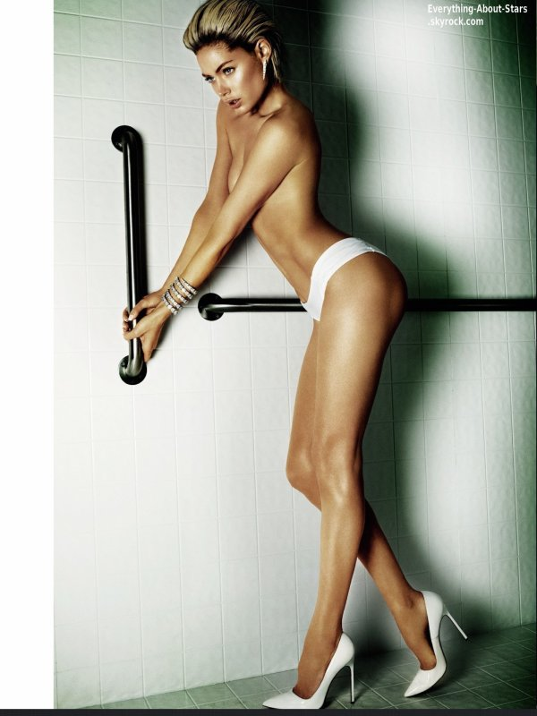 Doutzen Kroes pose pour le magazine Vogue