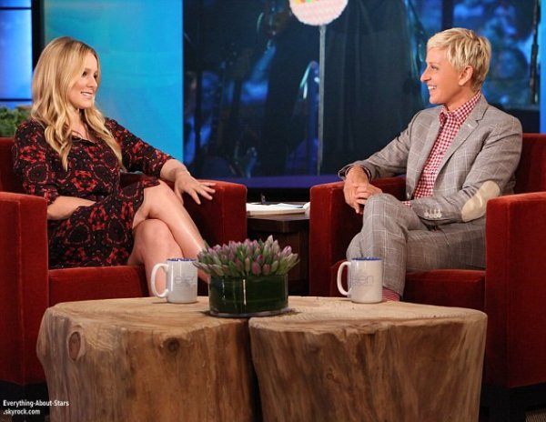 Kristen Bell invité à l'émission The Ellen DeGeneres Show   Le 01 Juin 2013