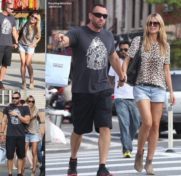Heidi Klum repérée avec son boyfriend Martin Kristen en train de faire du shopping à New York    Le 8  juin  2013