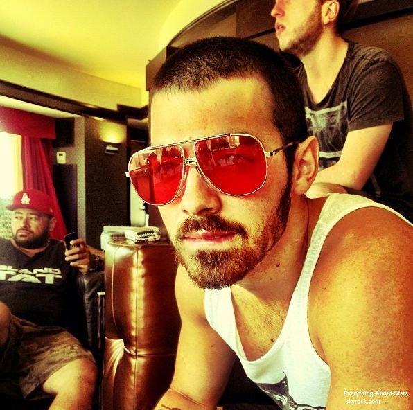 Photos personnelles de Joe Jonas