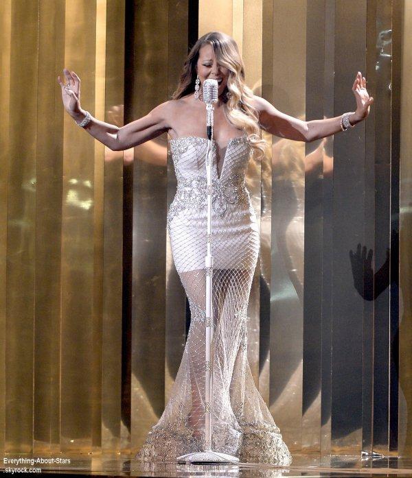 Découvrez la performance de Mariah Carey lors des BET Awards 2013