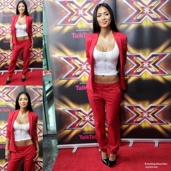 Nicole Scherzinger s'est rendu aux auditions de X-Factor à Cardiff  Le 4 Juillet  2013
