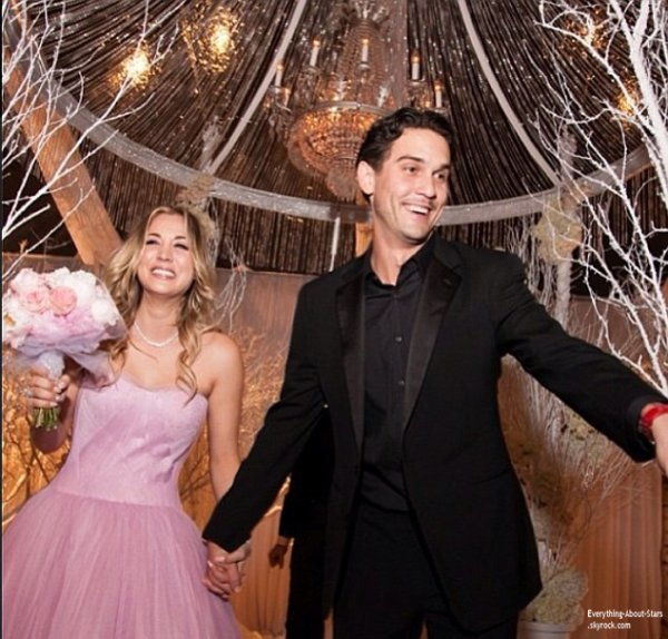 Kaley Cuoco : mariée à Ryan Sweeting