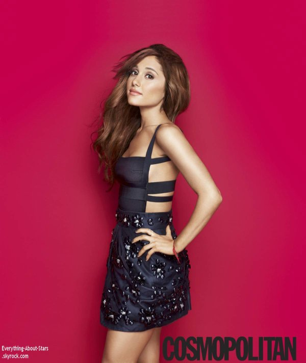 Ariana Grande prend la pose pour le magazine COSMOPOLITAN