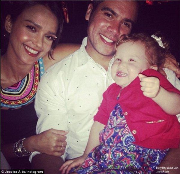 Découvrez des photos personnelles de Jessica Alba et sa famille