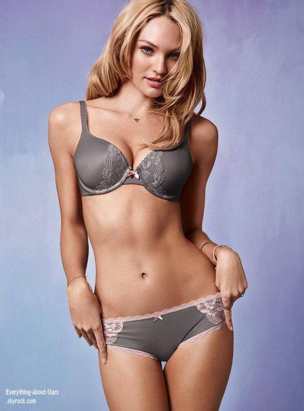 Candice Swanepoel prend la pose en lingerie pour la célèbre marque Victoria's Secret