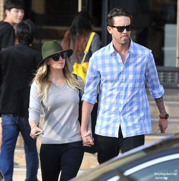 03/01/14: Kaley Cuoco et son mari Ryan Sweeting repérée dans les rues de Beverly Hills