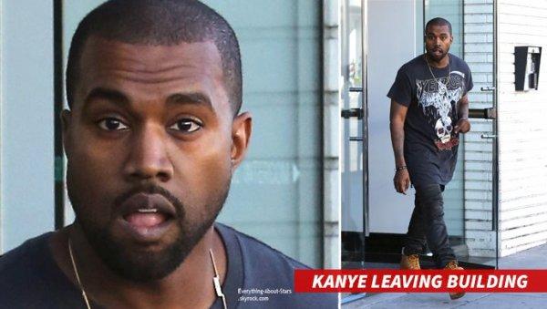 Kanye West frappe un jeune qui a traité Kim de : « sal*** à nè**** »