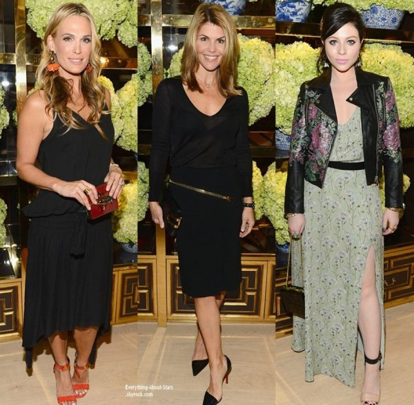 14/01/14: Jessica Alba, Molly Sims, Lori Loughlin, Michelle Trachtenberg, Brooklyn Decker et Hailee Steinfeld à l'inauguration de la nouvelle boutique Tory Burch à Los Angeles