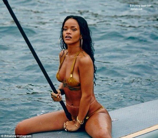 Photos personnelles provenant de l'instagram de Rihanna