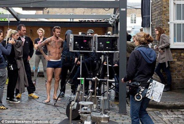 David Beckham se déshabille de nouveau pour H&M