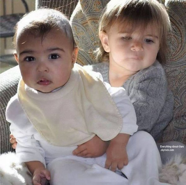 Photo du jour: North West et Penelope Scotland Disick
