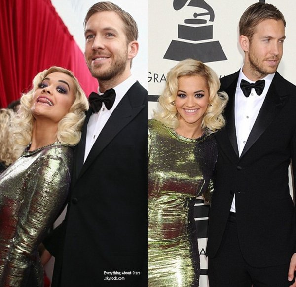 GRAMMY AWARDS 2014: Cérémonie, Red Carpet, Palmarés, Récompense et Vidéos  Rita Ora, Calvin Harris, Taylor Swift, Ciara, Amber Rose sur le Red Carpet des Grammy Awards 2014