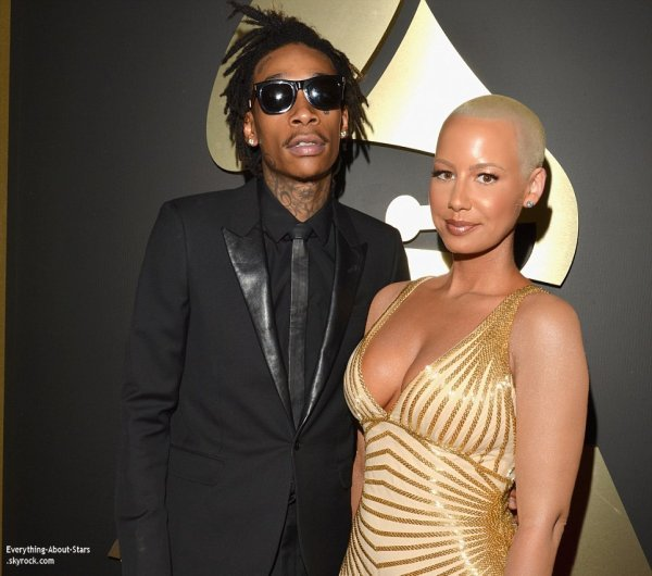 GRAMMY AWARDS 2014: Cérémonie, Red Carpet, Palmarés, Récompense et Vidéos  Amber Rose, Wiz Khalifa, Ciara, Alicia Keys et Swizz Beatz sur le Red Carpet des Grammy Awards 2014