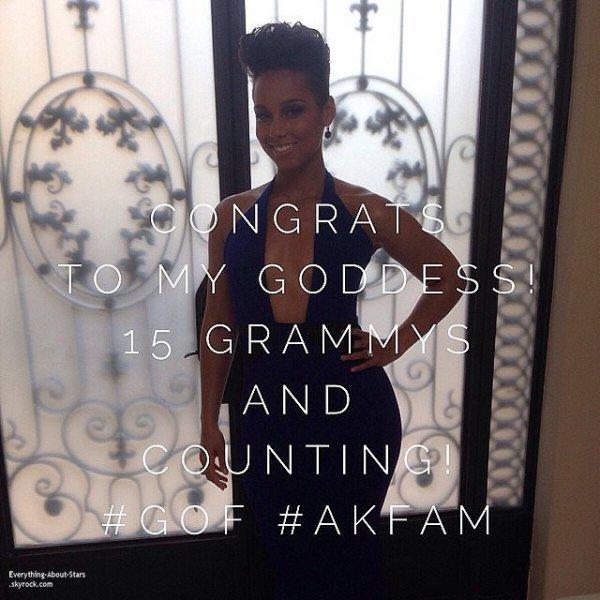 GRAMMY AWARDS 2014: Cérémonie, Red Carpet, Palmarés, Récompense et Vidéos  Photos Instagram et Twitter durant la cérémonie des Grammy Awards 2014