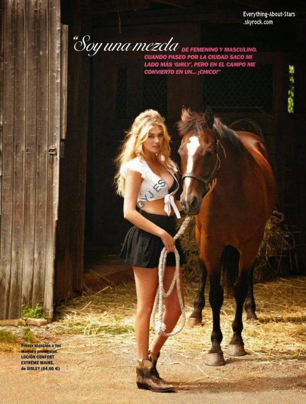 Kate Upton en couverture de Cosmopolitan