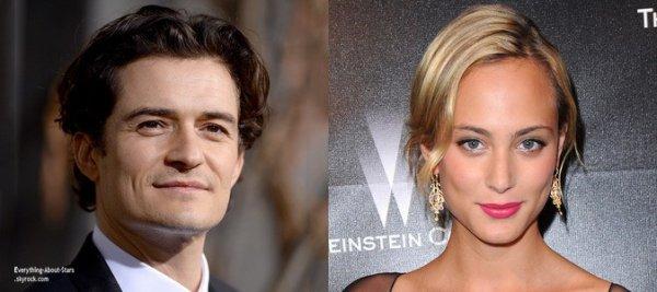 LA RUMEUR DU JOUR:  Orlando Bloom serait en couple avec l'actrice française Nora Arnezeder