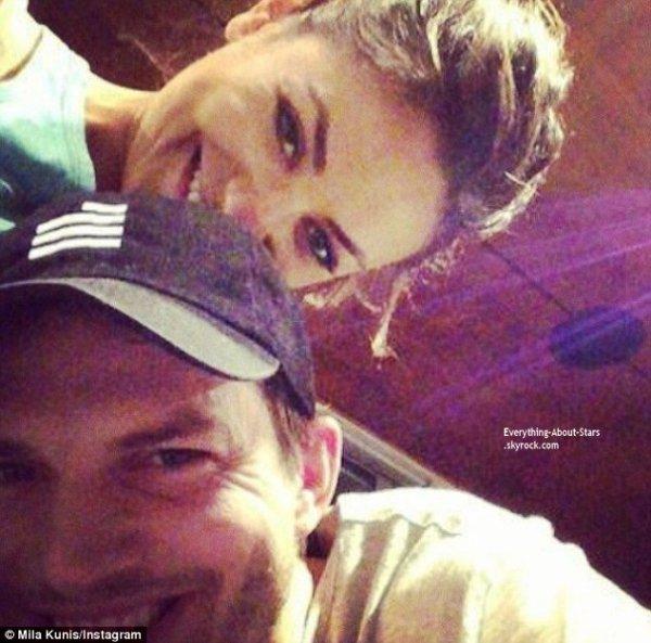 Ashton Kutcher et Mila Kunis se sont fiancés