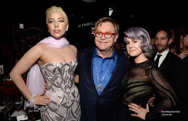 OSCAR 2014:  After Party des Oscars: la traditionnelle soirée annuelle organisée par Elton John, pour lever les prochains fonds qui financeront la recherche contre le Sida   Cérémonie, Tapis rouge, Palmarés, Récompense, Vidéos, Backstage, Instagram et After Party