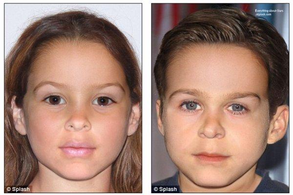 A quoi pourrait bien ressembler la fille ou le fils de Ryan Gosling et Eva Mendes: