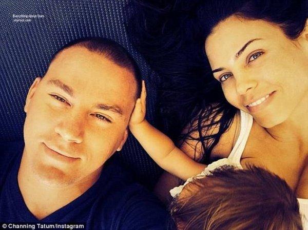Photo of the day: Channing Tatum à posté une photo sur son compte Instagram pour célébrer ses 5 ans de mariage avec Jenna Dewan et leur fille Everly
