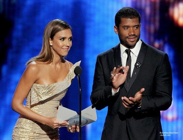 16/07/14: Jessica Alba et Cameron Diaz sublime, lors de la cérémonie des  ESPY Awards 2014 à Los Angeles