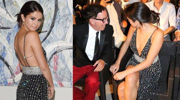 19/07/14: Selena Gomez aperçue au 8éme jour Ischia Global Film et Music Festival