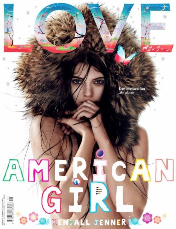 Kendall Jenner pose pour LOVE Magazine