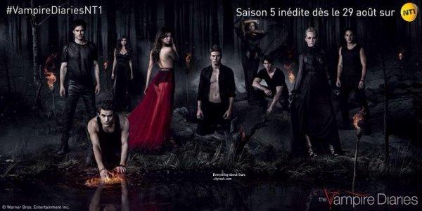 Votre série revient sur les écrans demain soir à 20h50 sur NT1 avec une saison 5 inédite ! L'entrée à l'université n'est jamais aisée, surtout lorsqu'on côtoie au quotidien des vampires…