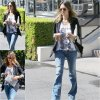 26/08/14: Jessica Alba repérée à la sortie du Coffee Bean à Los Angeles
