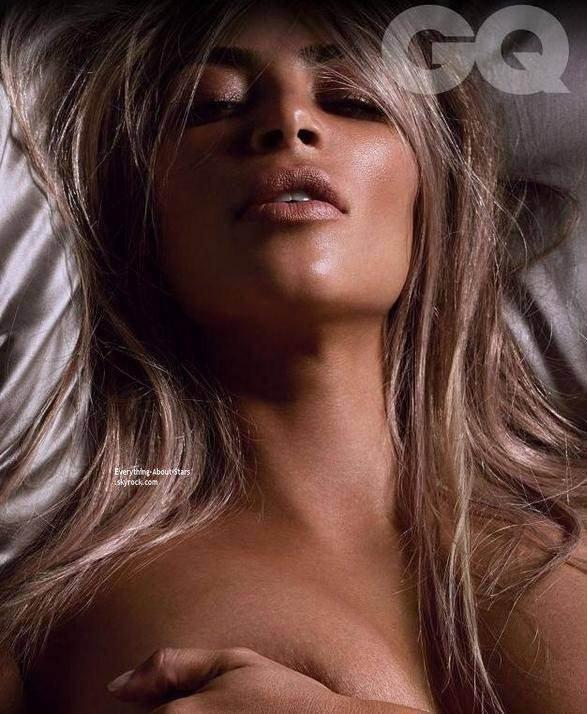 Kim Kardashian pose nu pour GQ MAGAZINE  Qu'en pensez-vous?