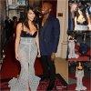 """02/08/14: Hier soir, Kim Kardashian West et son mari Kanye été à la soirée GQ Men of the Year Awards 2014, où la belle à reçu le prix """"  Woman of the Year Award"""" à Londres."""