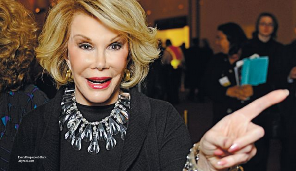 Joan Rivers, la reine de la scène comique américaine: retrouvé morte