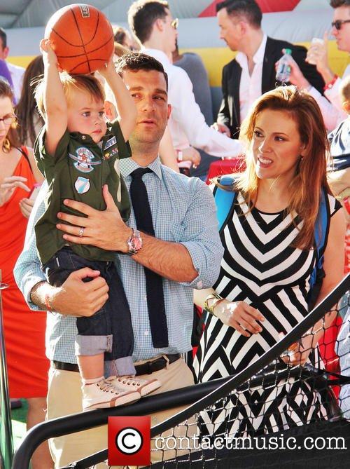 Alyssa avec sa famille♥